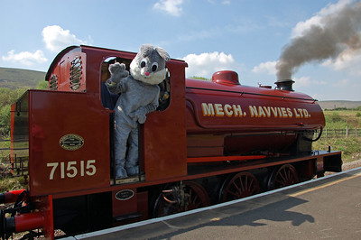 Once again the Easter Bunny and friends will be visiting the railway